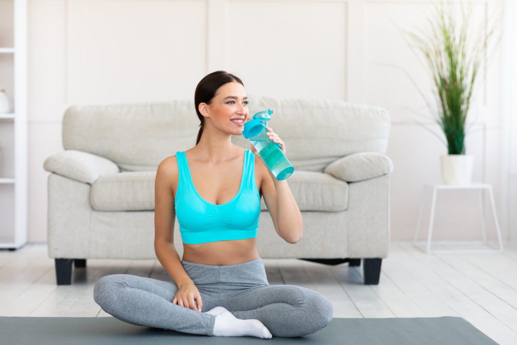 Potential Risk of Dehydration when Practicing Yoga